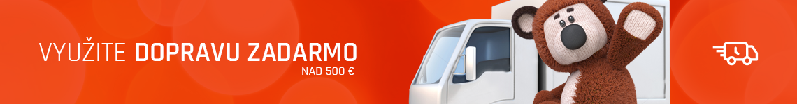 Banner akcia na dopravu od 500 eur