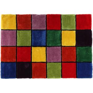 Produkt Koberec, červená/zelená/žltá/fialová, 200×300, LUDVIG TYP 4