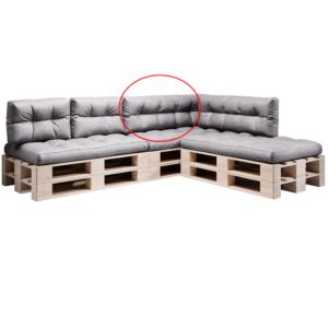 Produkt Vankúš na paletové sedenie, sivá, ANIKA TYP 2